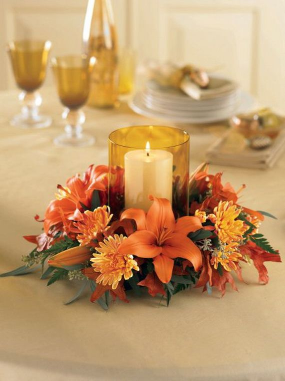 Easy Thanksgiving Table Decoration Thanksgiving Pinterest