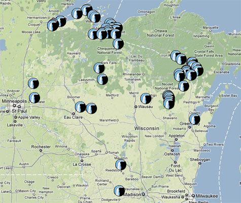 Eastern Waterfall Database Wisconsin Pinterest