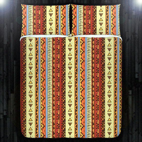 Southwestern native navajo duvet cover bedding queen by duvetcover