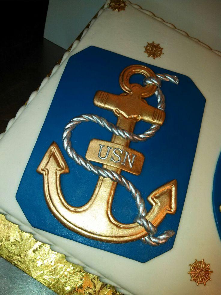 navy birthday cakes
