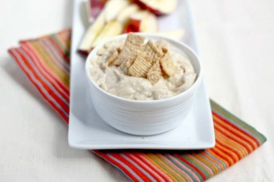 Cinnamon Toast Greek Yogurt Dip