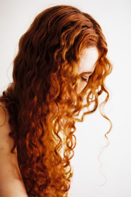 ginger curly hair tumblr - photo #22