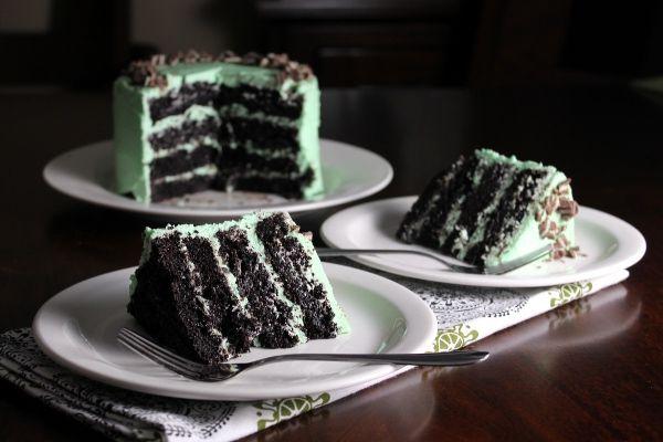 how to make chocolate mint cake