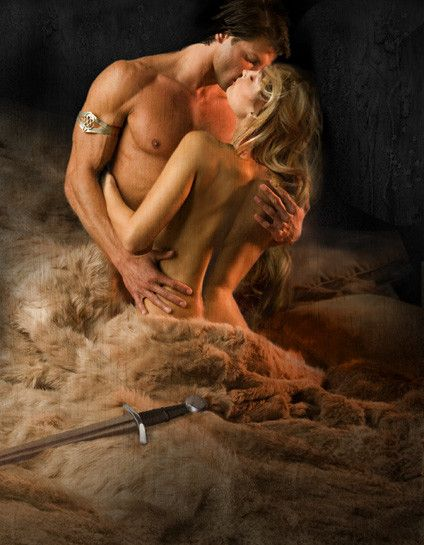 Judy York Art ~ The Viking's Defiant Bride by Joanna Fulford