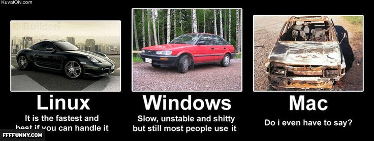 linux vs mac vs window team Transcript of unix/linux vs mac vs windows  microsoft unix/linux vs mac vs windows learning team e presents windows similar to unix/linux relies more on threads processes have unique id's memory managed by the system processes detach from interface – services task manager.