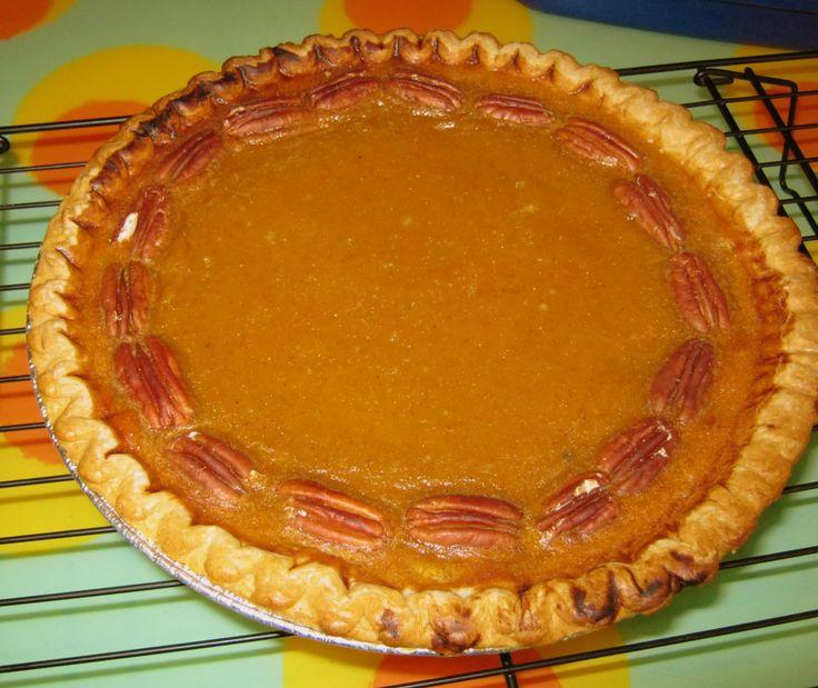 butternut squash pie | Zuchini Love...other squash,too! | Pinterest