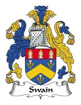 Swain Family Crest