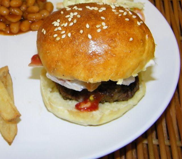 Homemade Hamburger Buns | theapron | Homemade bread | Pinterest