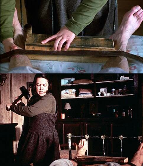 Kathy Bates and [the f...