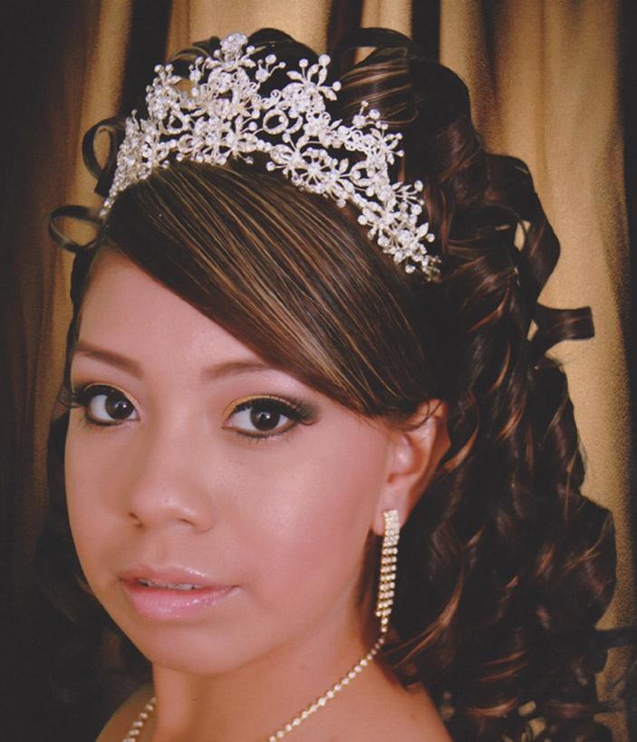 Quinceanera Hairstyles For Short Hair : ... Quinceanera Hairstyles With Curls also Wedding Hairstyles Short Hair