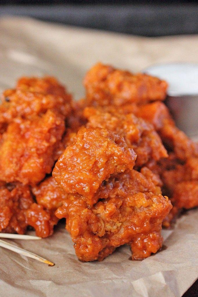 Garlic Boneless Buffalo Wings | APPETIZERS | Pinterest