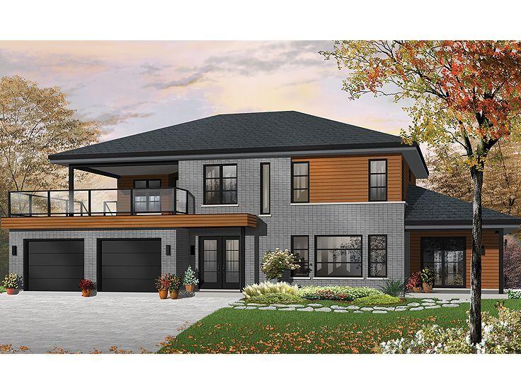 Multi Generational Home 027m 0052 House Plans Pinterest