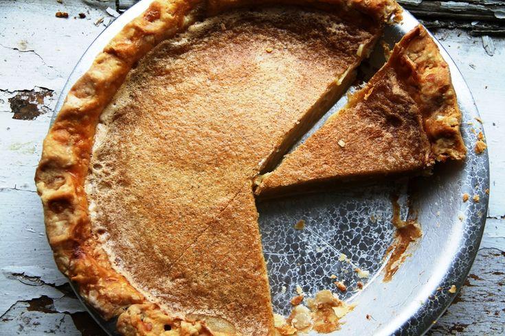 Maple Sugar Pie Recipe — Dishmaps