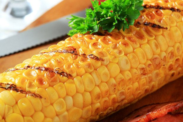 cheesy, buttery take on grilled corn on the cob
