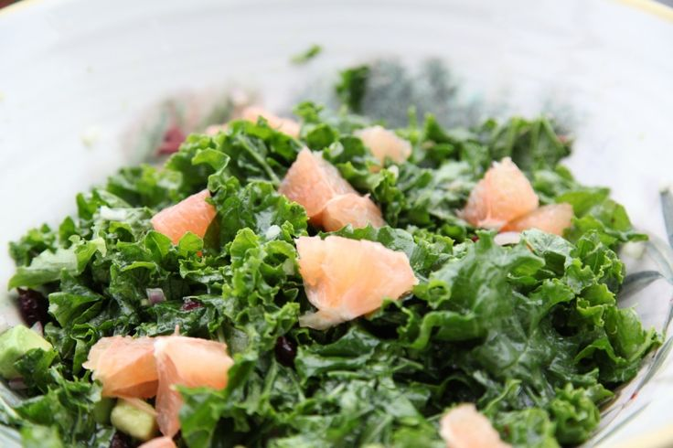 Kale Citrus Salad | yum | Pinterest