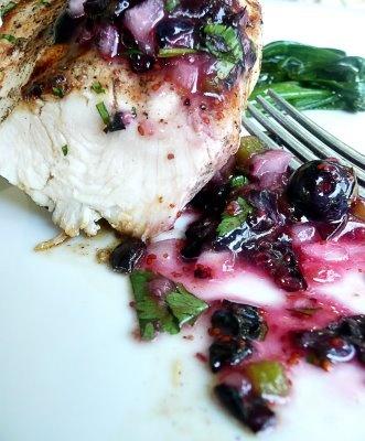 basil and basil blueberry habanero salsa blueberry basil cake with ...