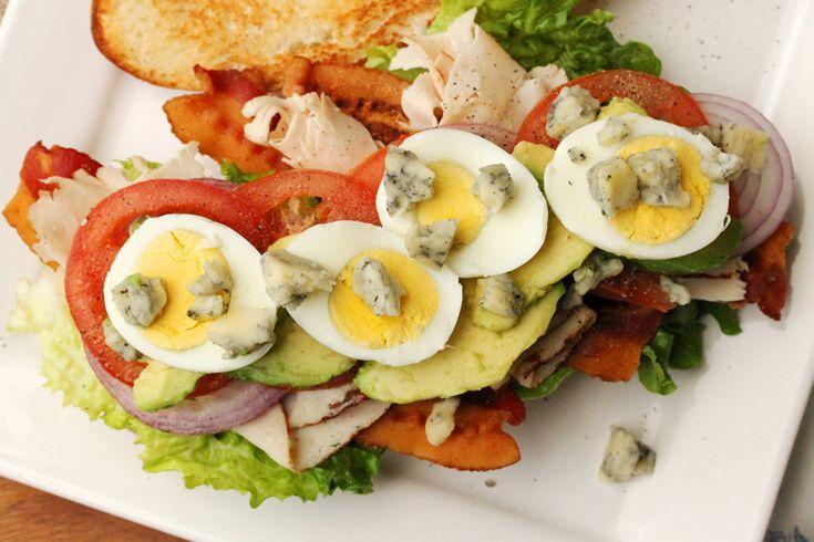 turkey cobb salad sandwich | Yum! | Pinterest