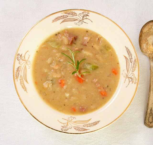 White Bean And Ham Soup Recipe — Dishmaps