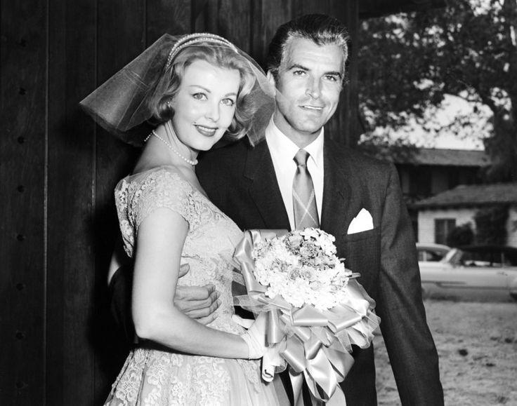 Fernando Lamas and Arlene Dahl wedding in 1954. | Way back ...