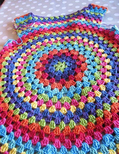 Free Crochet Pattern For Mandala Vest : Mandala crochet vest - no pattern Crochet Pinterest