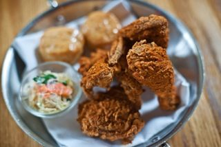 Andrew Carmellini's Fried Chicken | recipes | Pinterest