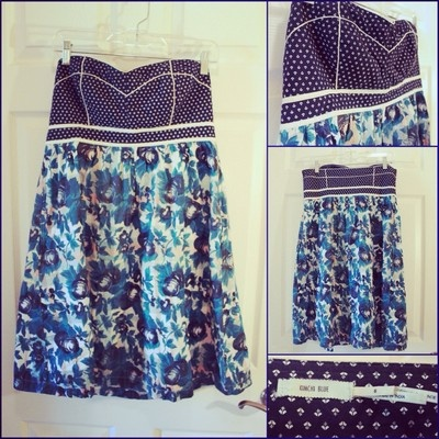 Urban Outfitters Kimchi Blue Babydall Mixed Pattern Dress Size 6  2 50Urban Outfitters Pattern