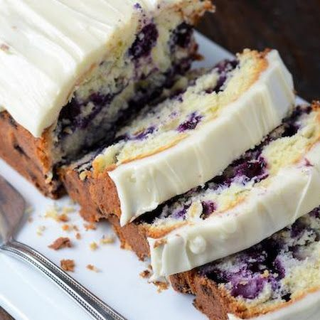 Blueberry Lime Cream Cheese Pound Cake. Results: Delicious and easy! I ...