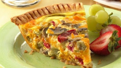 Vegetable-Cheddar Quiche | Great Recipes | Pinterest