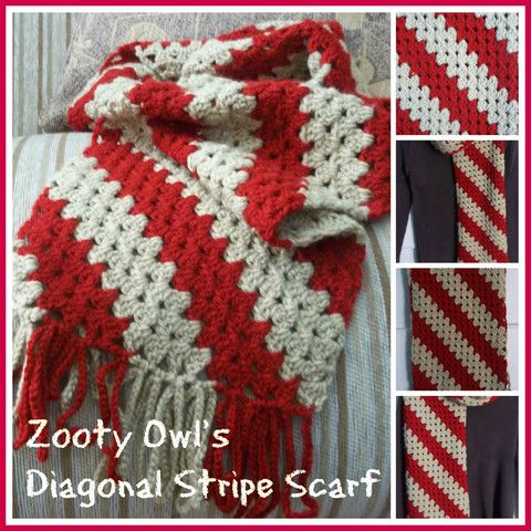 How to Loom knit a solid-striped scarf « Knitting & Crochet