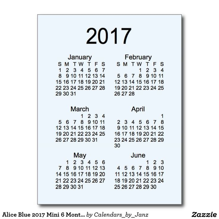 Printable 6 Month Calendar 2017   April Calendar   April Calendar
