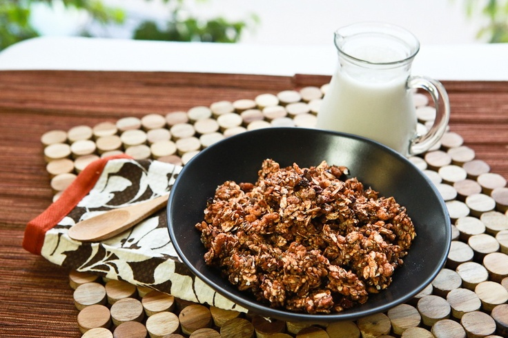 Cacao Quinoa Granola from Keepin' it Kind