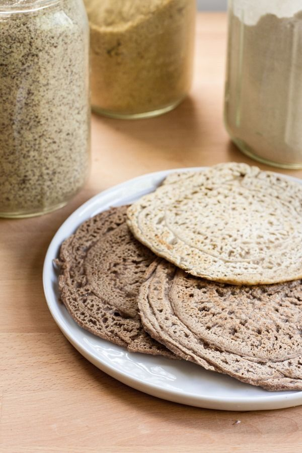 vegan pan bread roll-ups 2 ways (cinnamon buckwheat and savory oat) gf ...