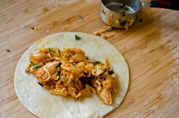 Chicken Enchiladas with Tomatillo Sauce | Food | Pinterest