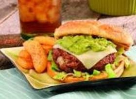 Stuffed Spicy Guac Burgers - BetterRecipes.com