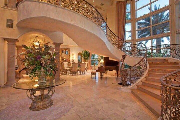 Grand entrance foyers pinterest for Grand entrances