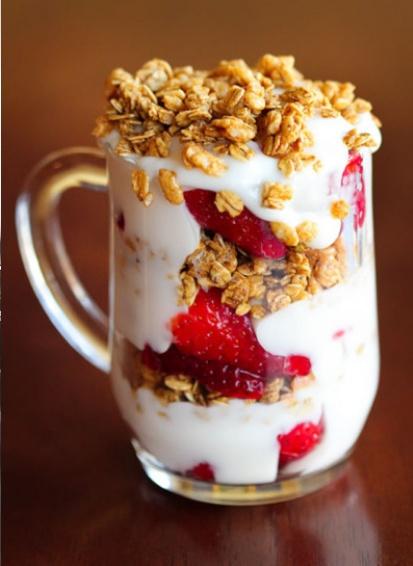yogurt parfait | Kitchen | Pinterest