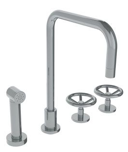 High End Kitchen Faucets : High end kitchen faucet from WaterMark Lakeshore Ave. Project Pin ...