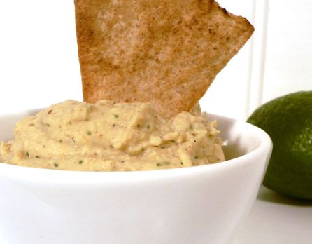 Jalapeno and lime hummus. This one is a huge hit in my house!