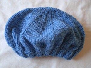 Free Double Knitting Beret Pattern : Double Knit Beret - free pattern Boinas / Beret Pinterest
