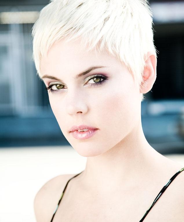 Hot albino woman