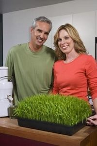 How to Whiten Teeth With Wheat Grass Juice