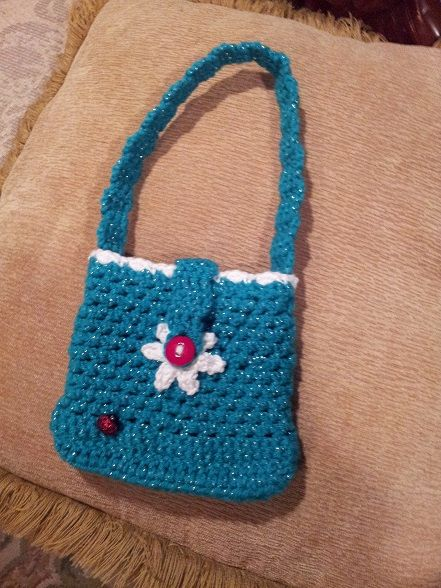 LaBebelu Crochet Little Girls Purse Instant by LaBebeblu on Etsy,