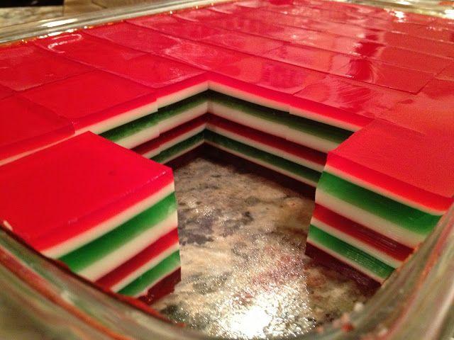 from the desk: Christmas Finger Jello | Sweet Treats | Pinterest