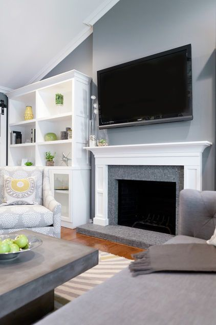 Benjamin moore englewood cliffs 50 shades of grey Shades of gray for living room