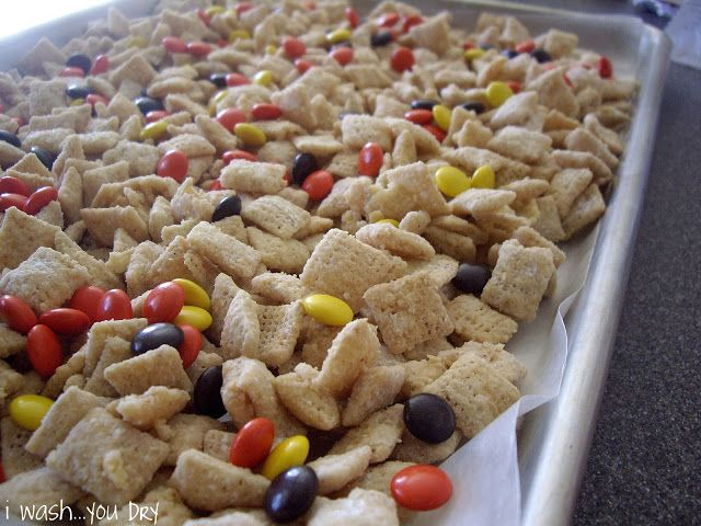 ... white chocolate chip cookies into white chocolate chex cereal mix