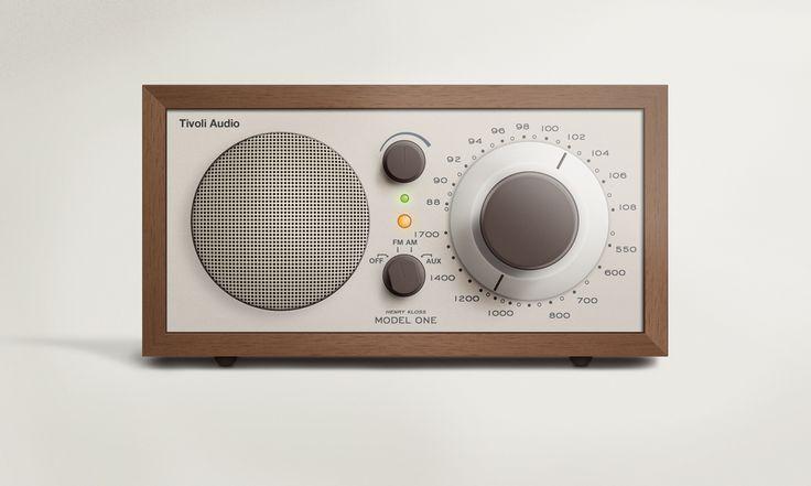 Tivoli Audio Model One (digital illustration)   Illustrator: Anton Reimertz