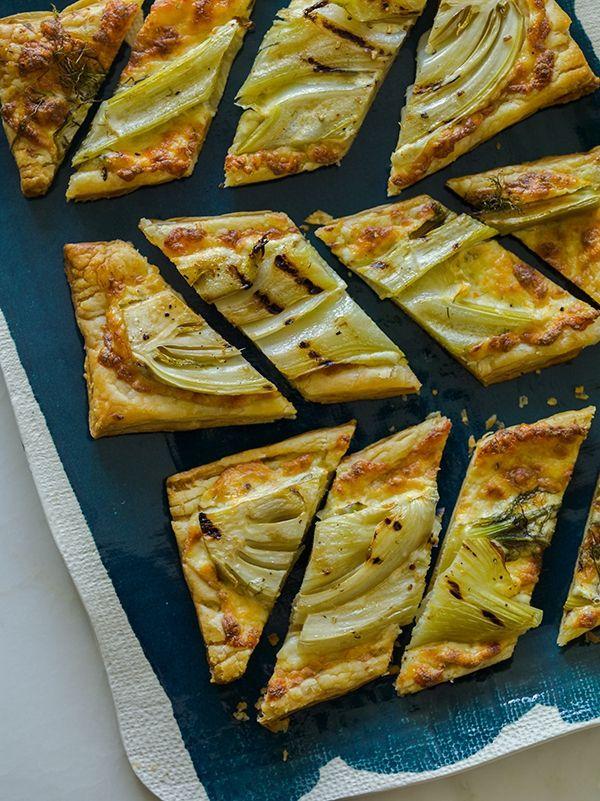 Grilled Fennel Tarts | Tarts, Pies, Galettes, Quiches | Pinterest