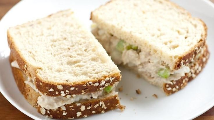 ... these hearty tuna salad sandwiches that are ready in just 15 minutes