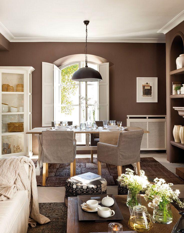 Una casa reformada con la fuerza del color · ElMueble.com · Casas