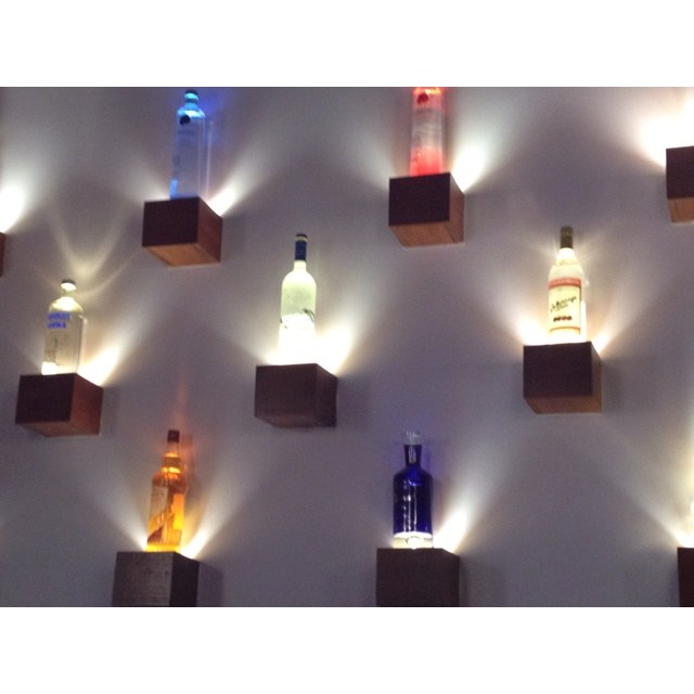 Colored Glass Wall Decor : Colored glass wall art